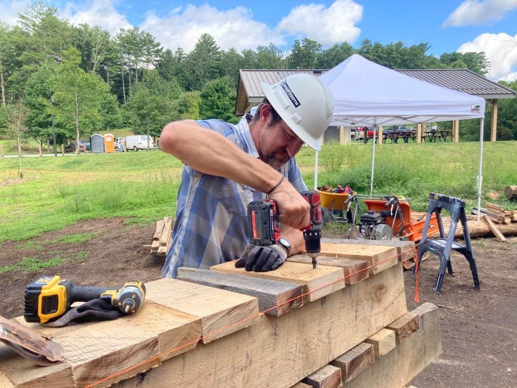Asheville Richmond Hill Skills Trail Volunteer